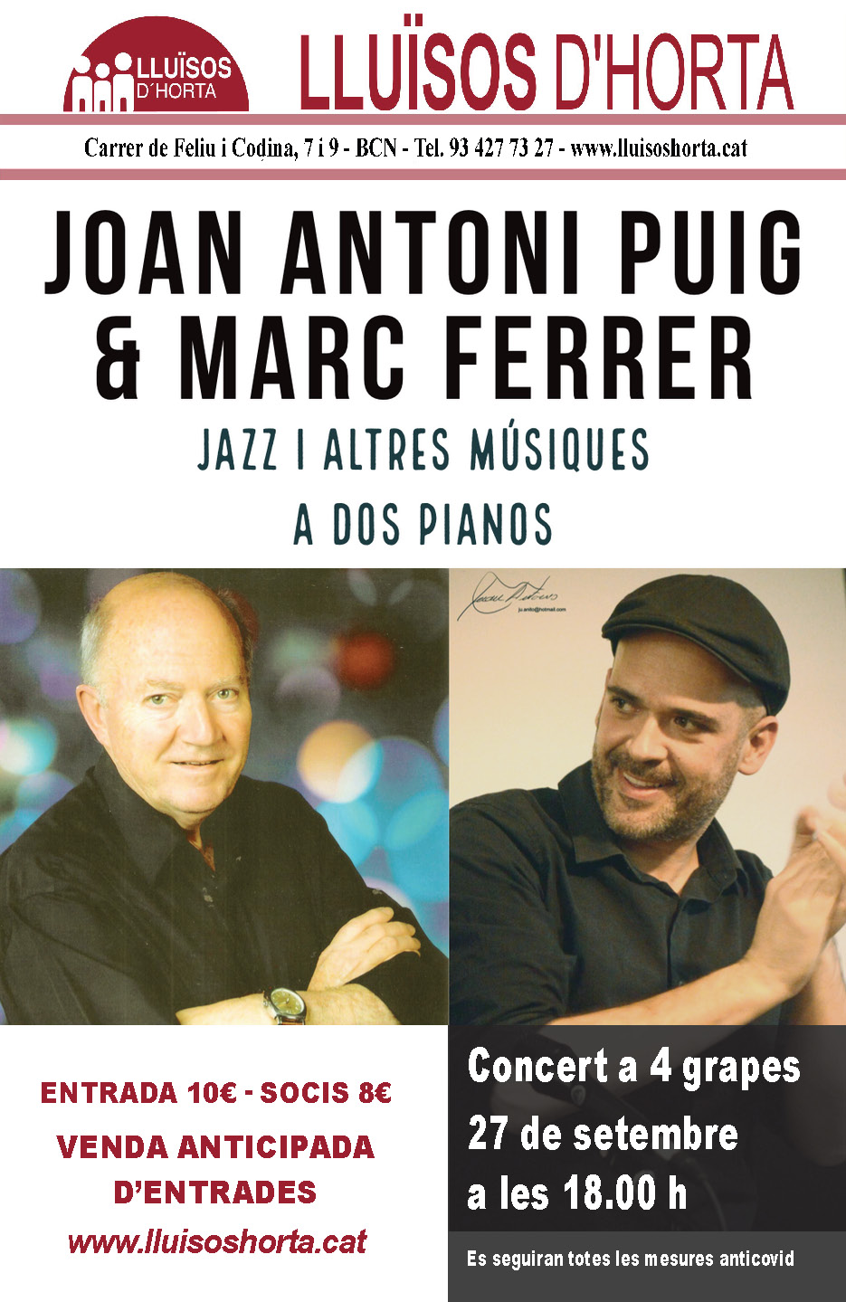 Joan Antoni Puig & Marc Ferrer