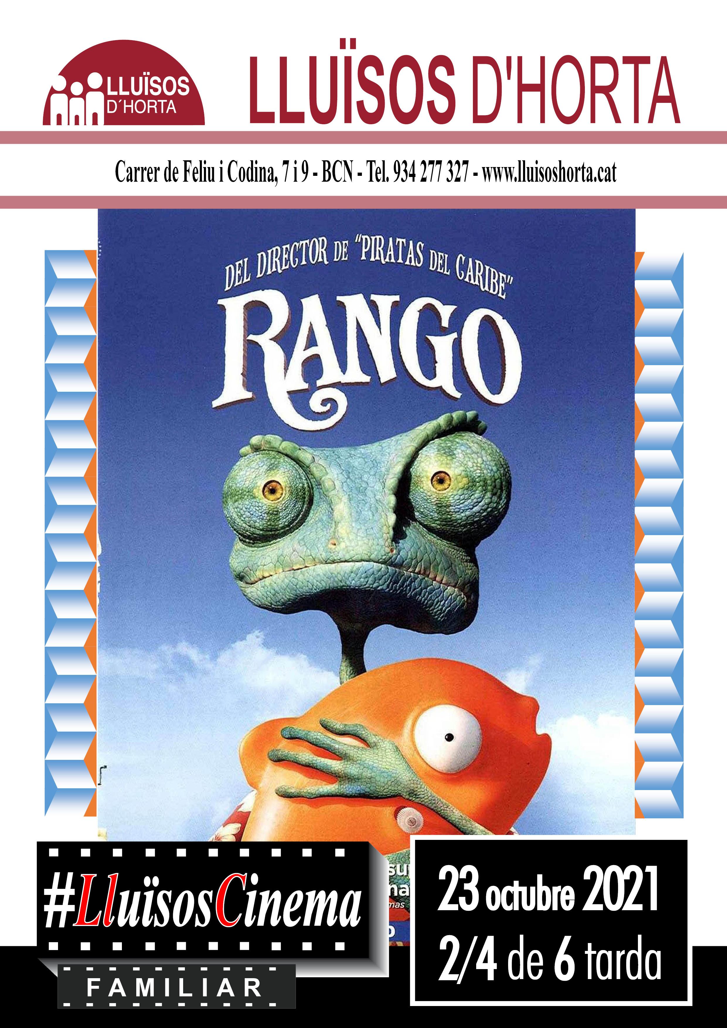Cinema Familiar - Rango