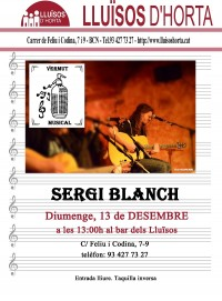 Vermut Musical - Sergi Blanch, The Hanged Man