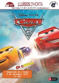 Cinema Familiar - Cars 3