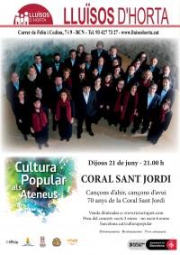 Cultura Popular als Ateneus - Coral Sant Jordi