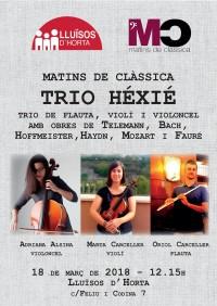 Matins de Clàssica - Trio Héxié