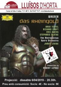 Òpera de Cine - L'or del Rin