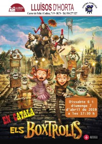 Cinema Familiar - Els Boxtrolls
