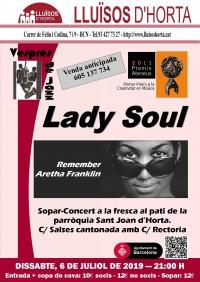 Vespres de Jazz - Lady Soul