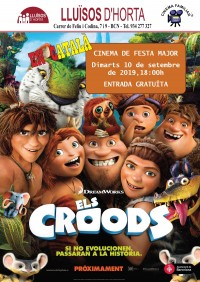 Festa Major d'Horta 2019 - Cinema de Festa Major - Els Croods