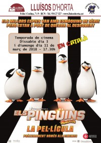 Cinema Familiar - Els pingüins de Madagascar