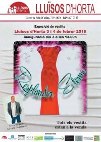 Exposició de vestits - Resplandor eterno