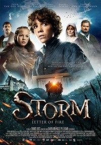 Storm. Letter of fire