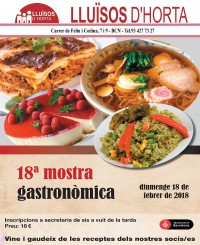 18a Mostra Gastronòmica