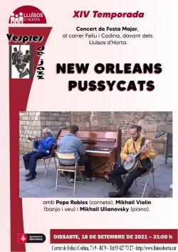 Vespres de Jazz - New Orleans Pussycats