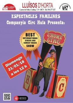 Espectacles Familiars - L'Home Circ