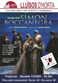 Òpera de Cine - Simon Boccanegra