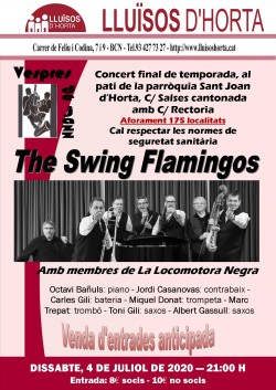 Vespres de Jazz - BCN Swing Flamingos