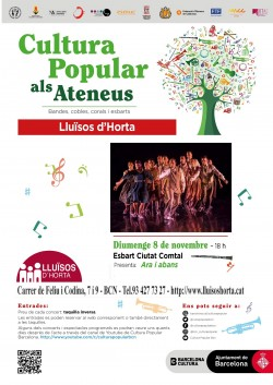 Cultura Popular als Ateneus - Esbart Ciutat Comtal