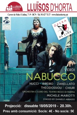 Òpera de Cine - Nabucco