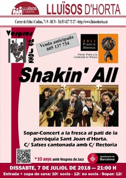 Vespres de Jazz - Shakin' All