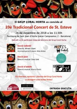 39è Tradicional concert de Sant Esteve