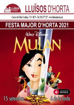 Festa Major d'Horta 2021 - Mulán