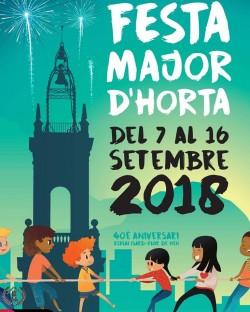 Festa Major d'Horta 2018 - Gran Festa Infantil dels Lluïsos i el Centre Cívic Matas i Ramis