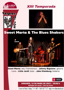 Vespres de Jazz - Sweet Marta & The Blues Shakers