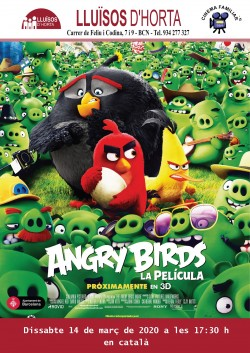 Cinema Familiar - Angry Birds