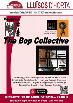 Vespres de Jazz - The Bop Collective