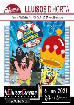 Cinema Familiar - Bob Esponja, la pel·lícula