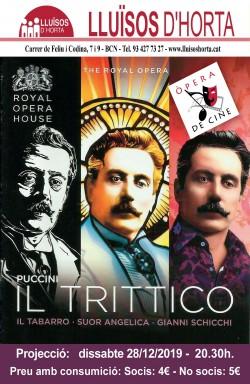 Òpera de Cine - Il Trittico