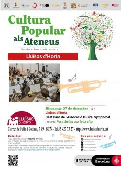 Cultura Popular als Ateneus - Beat Band de l'Associació Musical Symphocat