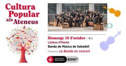 Cultura Popular als Ateneus - Banda de Sabadell, La Banda en concert