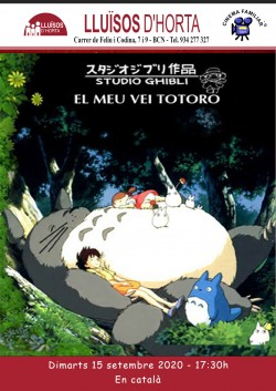 Cinema Familiar - El meu veí Totoro