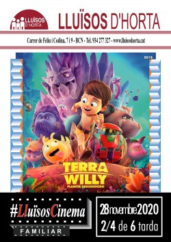Cinema Familiar - Terra Willy: Planeta desconocido