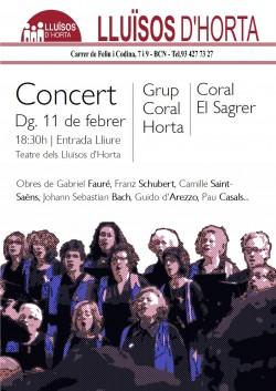 Concert del Grup Coral Horta