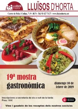 19a Mostra Gastronòmica