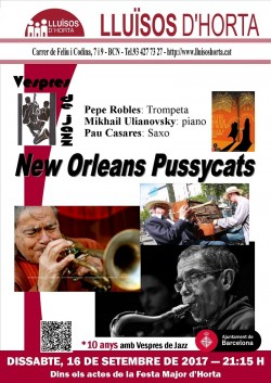 Festa Major d'Horta 2017 - Jazz al carrer - New Orleans Pussycats