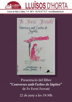 Presentació del llibre Converses amb l'arbre de Júpiter