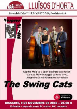 Vespres de Jazz - The Swing Cats